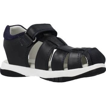 Chaussures Garçon Sandales et Nu-pieds Garvalin 202451 Bleu