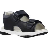 Chaussures Garçon Sandales et Nu-pieds Garvalin 202453 Bleu