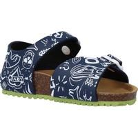 Chaussures Garçon Sandales et Nu-pieds Garvalin 202476 Bleu
