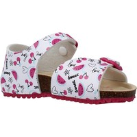 Chaussures Fille Sandales et Nu-pieds Garvalin 202660 Blanc