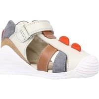 Chaussures Garçon Sandales et Nu-pieds Biomecanics 202147 Gris