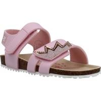 Chaussures Fille Sandales et Nu-pieds Garvalin 202662 Rose