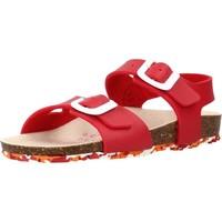 Chaussures Fille Sandales et Nu-pieds Garvalin 202663 Rouge