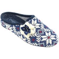 Chaussures Femme Chaussons Emanuela AEMA1559blu blu