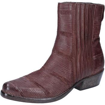 Chaussures Femme Bottines Moma Bottines Cuir Marron