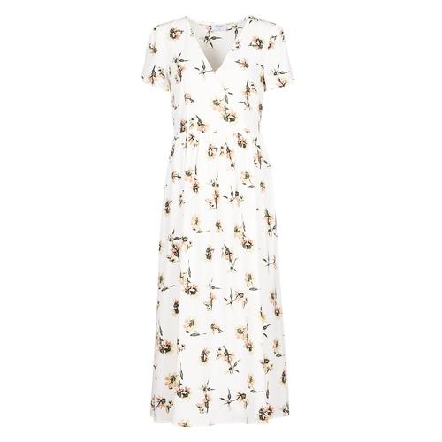 Vêtements Femme Robes longues Betty London OFRI Blanc