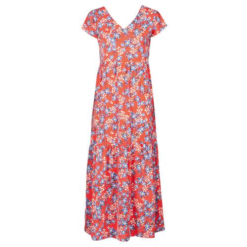 Vêtements Femme Robes longues Betty London ODE Rouge / Multicolore
