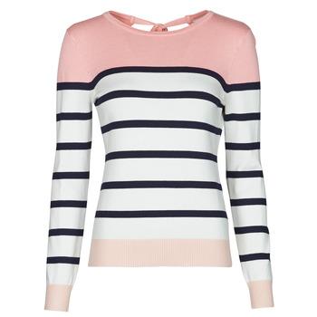 Vêtements Femme Pulls Betty London ORALI Rose / Ecru