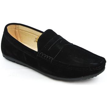 Chaussures Homme Mocassins Uomo Design Mocassin simple homme Marvin noir