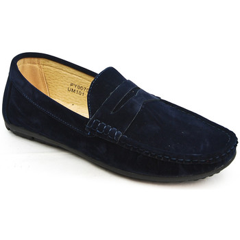 Chaussures Mocassins Uomo Design Mocassin simple homme Marvin marine