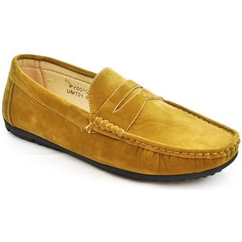Chaussures Homme Mocassins Uomo Design Mocassin simple homme Marvin camel