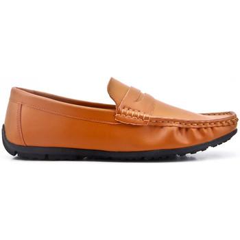 Chaussures Homme Mocassins Uomo Design Mocassin simple homme Marvin cognac