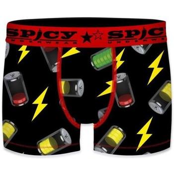 Sous-vêtements Homme Boxers Spicy Underwear ASS1 Noir