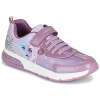 Chaussures Fille Baskets basses Geox JR SPACECLUB GIRL Violet
