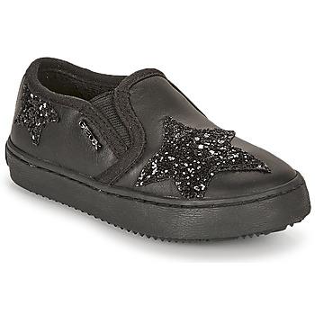 Chaussures Fille Baskets basses Geox J KALISPERA FILLE Noir