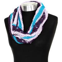 Accessoires textile Femme Echarpes / Etoles / Foulards Buff Col en tricot Multicolore