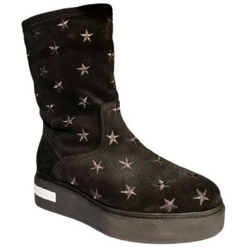 Chaussures Femme Bottes de neige Kanna Boots k17846 Noir