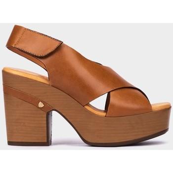 Chaussures Femme Sandales et Nu-pieds Pedro Miralles Bérgamo Marron