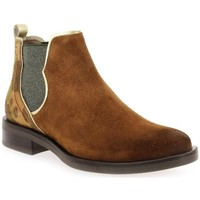 Chaussures Femme Bottines Mkd Bottine borba Marron