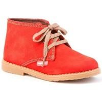 Chaussures Fille Bottines Cbp - Conbuenpie  Rouge