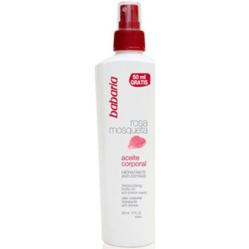 Beauté Accessoires corps Babaria ROSE MOSQUETA HUILE CORPS HYDRATANT ANTI-STRIES 300ML