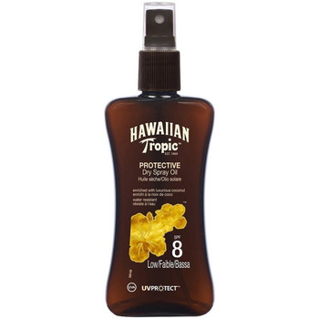 Beauté Protections solaires Hawaiian Tropic PROTECTIVE DRY HUILE EN PULVERISATION SPF8 LOW 200ML