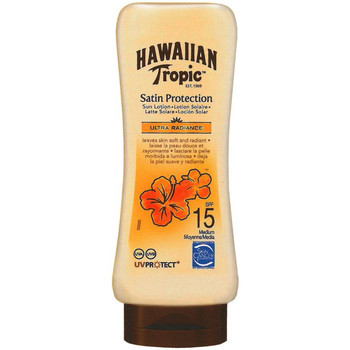 Beauté Protections solaires Hawaiian Tropic SATIN PROTECTION ULTRA RAJOURNCE SPF15 LOTION SOLAIRE 180ML