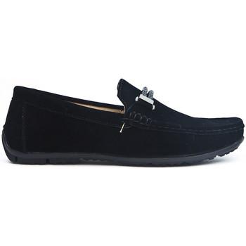 Chaussures Mocassins Uomo Design Mocassin Homme Maddox noir