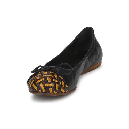 Wally Femme Jaune Kelian Chaussures BallerinesBabies Stéphane Noir uZPkXi