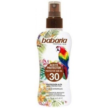 Beauté Protections solaires Babaria SOLAIRE  TROPICAL PROTECTION SOLAIRE HUILE SPF30 100ML