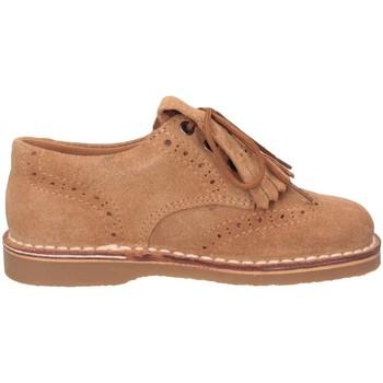 Chaussures Garçon Derbies Eli 2481 COGNAC French shoes Enfant COGNAC COGNAC