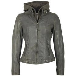 Vêtements Femme Vestes en cuir / synthétiques Gipsy CACEY LEGV ANTHRACITE Anthracite