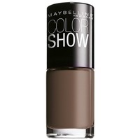 Beauté Femme Vernis à ongles Maybelline New York COLOR SHOW LAQUE ? ONGLES 549 TAUPE MINUIT 7ML