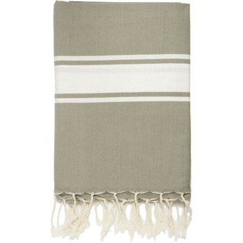 Maison Serviettes de table Nappes, Sets de table Febronie ST TROPEZ - Nappe en coton 150x250 Beige