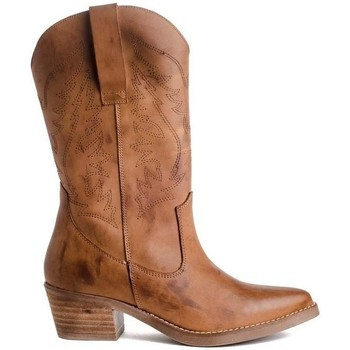 Chaussures Femme Bottes Funny Lola CAW Marron