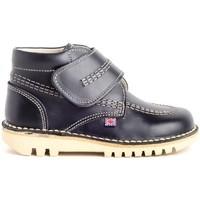 Chaussures Enfant Boots Colour Feet TUAREG Bleu
