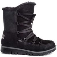 Chaussures Fille Bottes Imac 430508 Noir