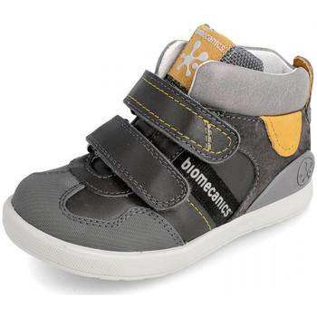 Chaussures Enfant Baskets montantes Biomecanics 191188 Gris