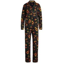 Vêtements Femme Pyjamas / Chemises de nuit King Louie Dusty Pyjama Femme Snooze Noir 38