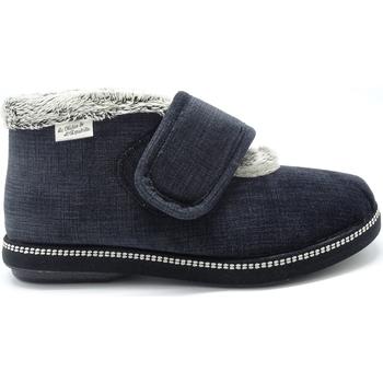 Chaussures Femme Chaussons Maison De Lespadrille 6830 NOIR