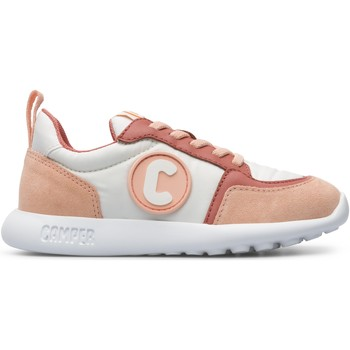 Chaussures Fille Baskets basses Camper Baskets cuir DRIFTIE rose