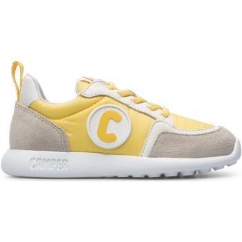 Chaussures Fille Baskets basses Camper Baskets cuir DRIFTIE jaune