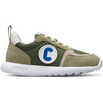 Chaussures Fille Baskets basses Camper Baskets cuir DRIFTIE vert