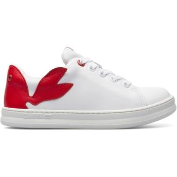 Chaussures Enfant Baskets basses Camper Baskets cuir TWINS blanc