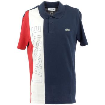 Vêtements Homme Polos manches courtes Lacoste Polo Bleu