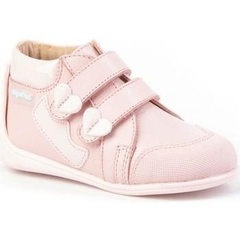 Chaussures Fille Bottines Cbp - Conbuenpie  Rose