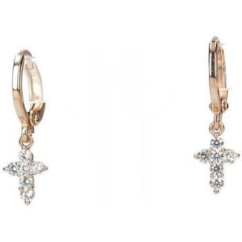 Montres & Bijoux Femme Boucles d'oreilles Luna Collection 54125 Doré