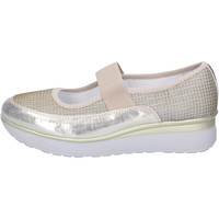 Chaussures Femme Ballerines / babies Cinzia Imprint BJ243 Platine