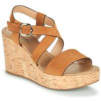 Chaussures Femme Sandales et Nu-pieds NeroGiardini JIPPO Cognac