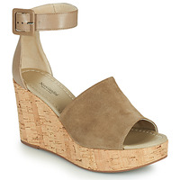 Chaussures Femme Sandales et Nu-pieds NeroGiardini NORWAY Taupe